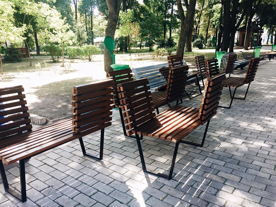 Парк Шевченко Киев